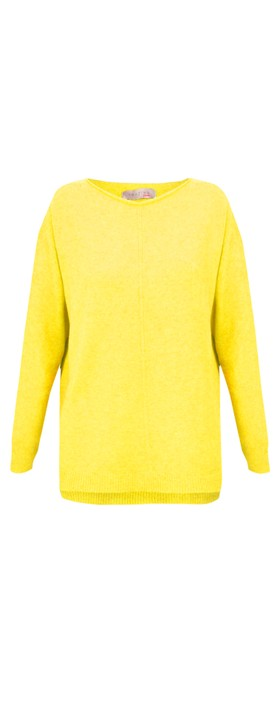 Amazing Woman Maggie Seam Front Supersoft Jumper Limon