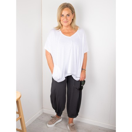 Mes Soeurs et Moi Possible Top With Pockets - White