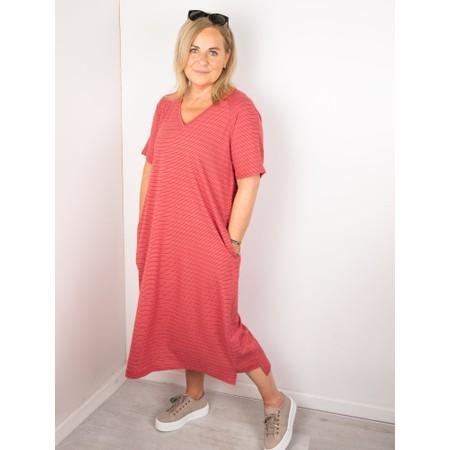 Mes Soeurs et Moi Takwa Stripe Long Dress - Pink