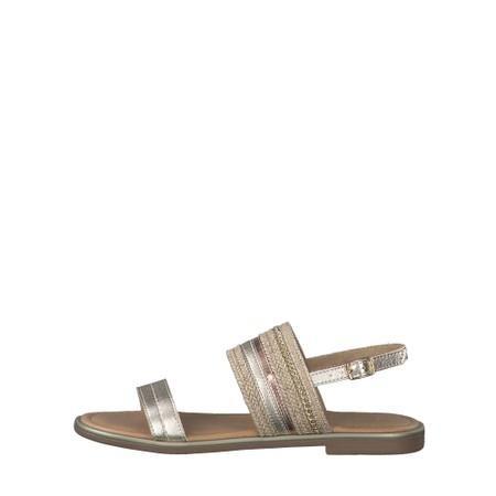 Marco Tozzi Yada Sandal - Metallic