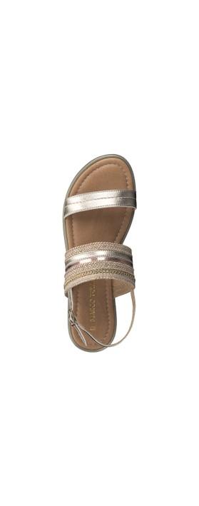 Marco Tozzi Yada Sandal Platinum