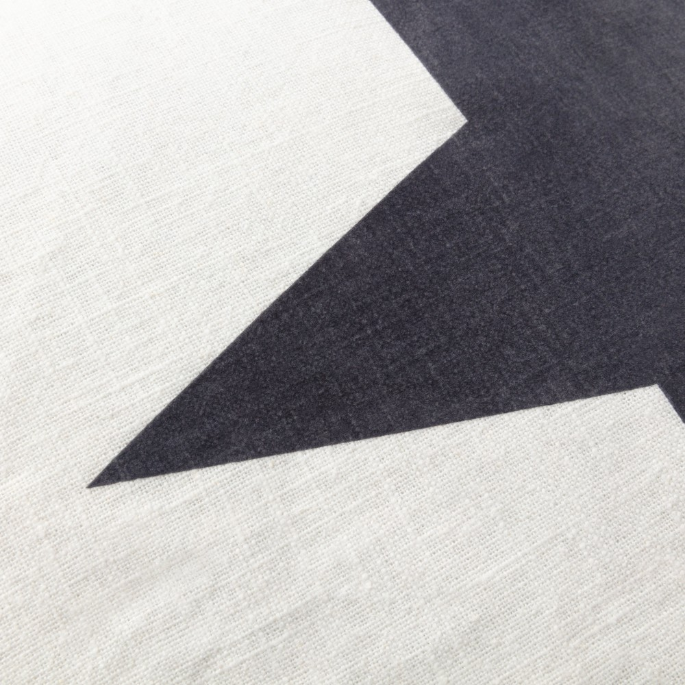 Chalk Star Shopper Everyday Bag  Off White / Dark Grey