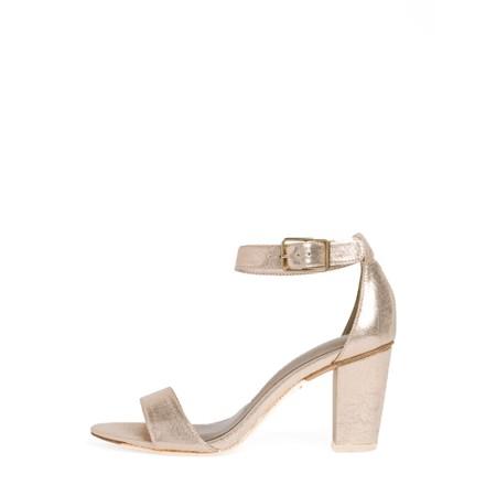 Tamaris Callie Heel Sandal - Metallic