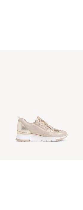 Tamaris Nelle Trainer Shoe Champagne / Punch