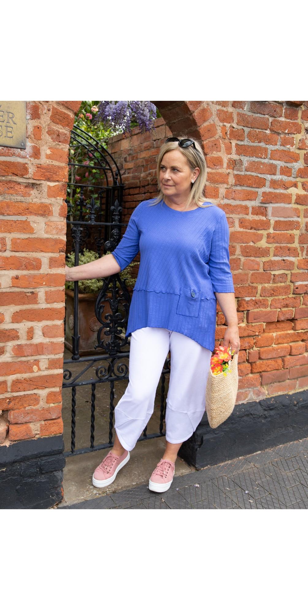 3/4 Sleeve Pocket Tunic main image
