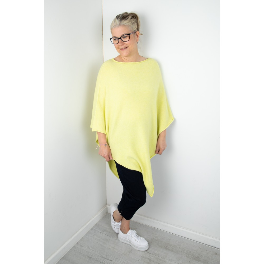 Amazing Woman Poncho in Supersoft Knit  Pistachio