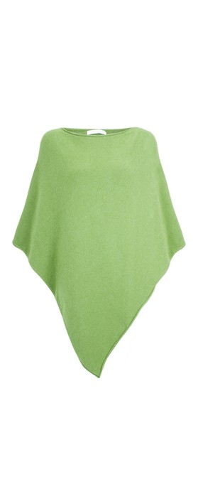 Amazing Woman Poncho in Supersoft Knit  Summer Green