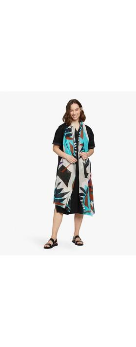 Masai Clothing Abeline Scarf Aquarelle