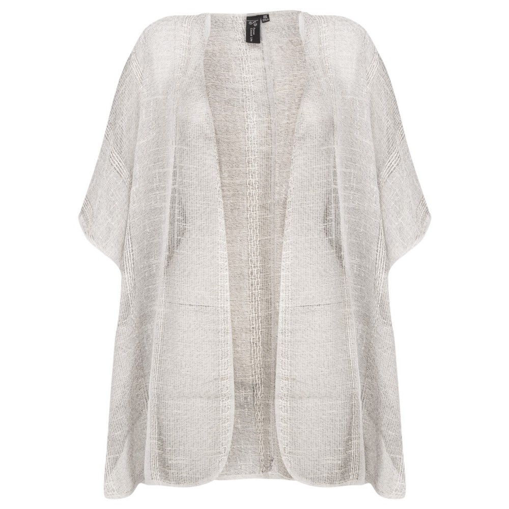 Focus Short Sleeve Kimono Stripe
