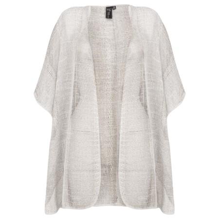 Focus Short Sleeve Kimono - Beige