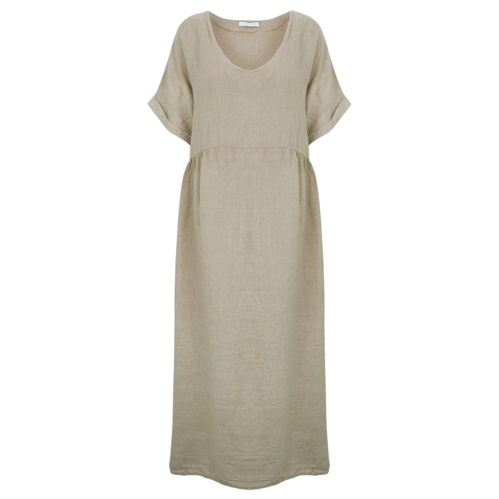 Amazing Woman Curve Tesa Curve Midi Dress Fango