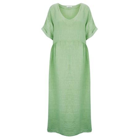 Amazing Woman Curve Tesa Curve Midi Dress - Green