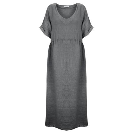 Amazing Woman Curve Tesa Curve Midi Dress - Black
