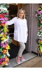 Amazing Woman White  Lexia Linen Top