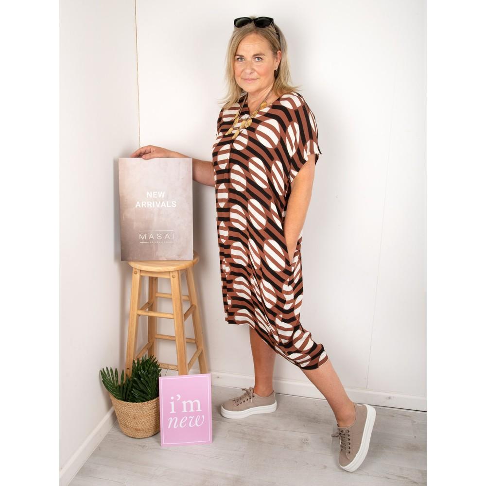 Masai Clothing Odetto Dress Tiramisu