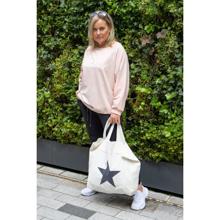 Chalk Star Shopper Everyday Bag  - Off-White