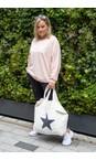 Chalk Off White / Dark Grey  Star Shopper Everyday Bag