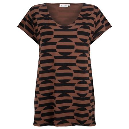 Masai Clothing Digna Top - Brown