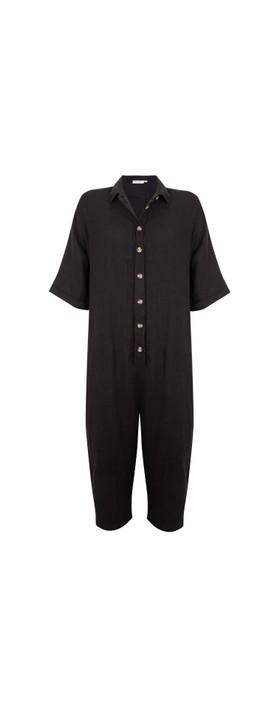 Masai Clothing Nanon Jumpsuit Black