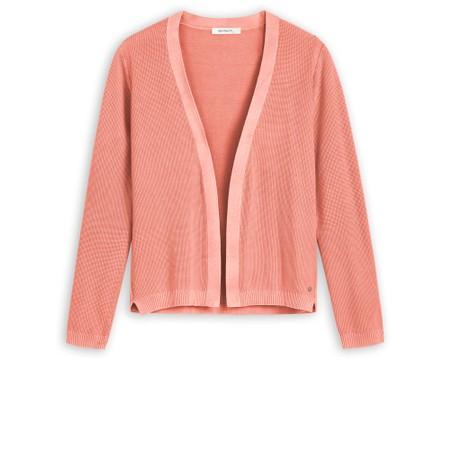 Sandwich Clothing Long Sleeve Cardigan - Pink