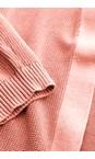Sandwich Clothing Rosette Long Sleeve Cardigan