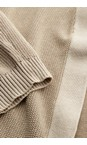 Sandwich Clothing Warm Sand Long Sleeve Cardigan