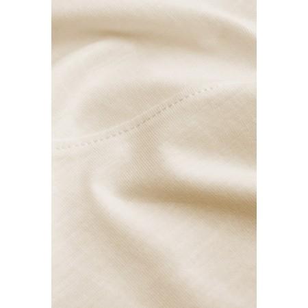Sandwich Clothing Three Quarter Sleeve Cotton T-Shirt - White