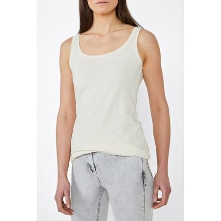 Sandwich Clothing Sleeveless Vest Top - White