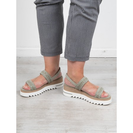 Marco Tozzi Sosi Sandal - Green