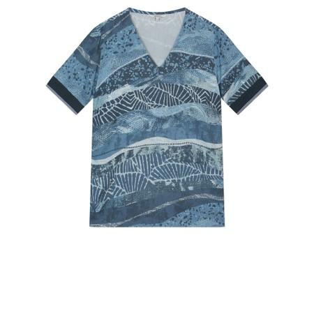 Sandwich Clothing Multi Print Blouse - Blue