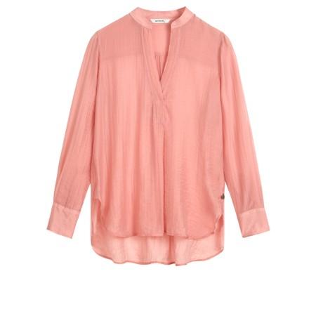 Sandwich Clothing Long Sleeve Tencel Blouse - Pink