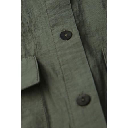 Sandwich Clothing Sheer Shirt Tunic - Green