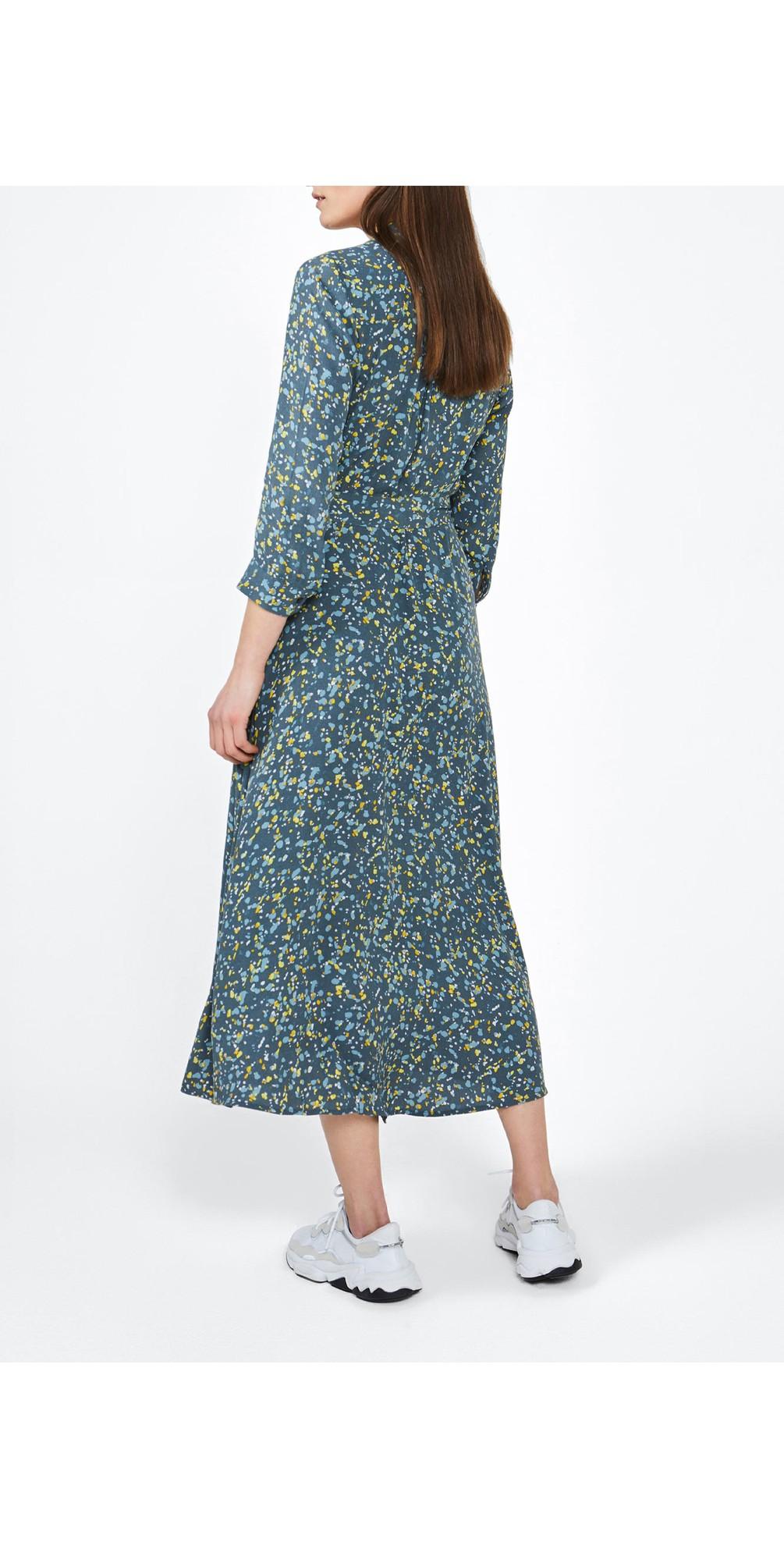 Long Line Paint Spot Dress main image