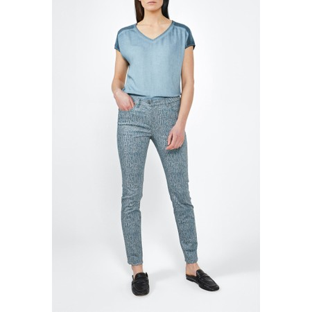 Sandwich Clothing Woven Trouser - Blue