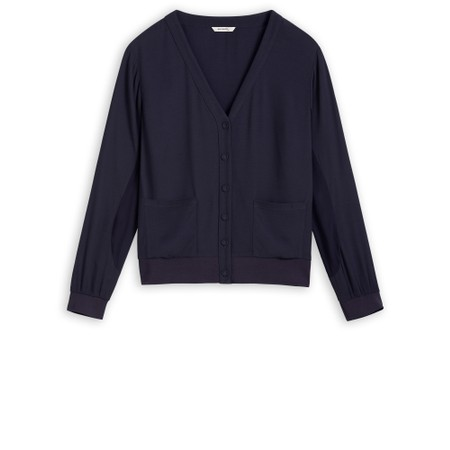 Sandwich Clothing V-neck Cardigan - Blue
