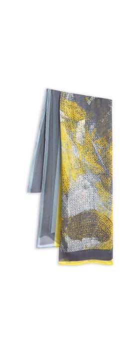 Sandwich Clothing Scarf Blue Shadow