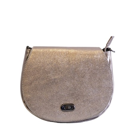 Gemini Label Bags Amber Leather Shoulder bag - Bronze