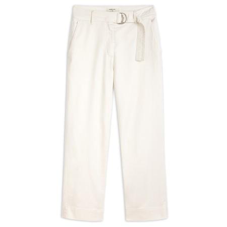 Sandwich Clothing Wide Leg Casual Trouser - White