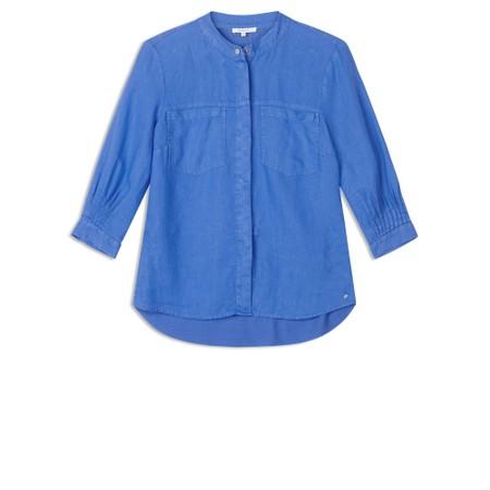 Sandwich Clothing Long Sleeve Blouse - Blue