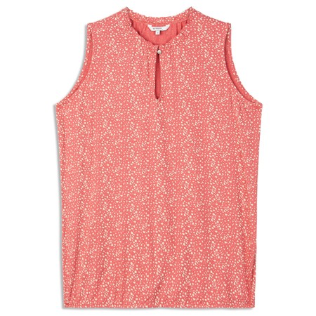 Sandwich Clothing Sleeveless Printed Top - Pink