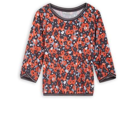 Sandwich Clothing Poppy Print Blouse - Orange