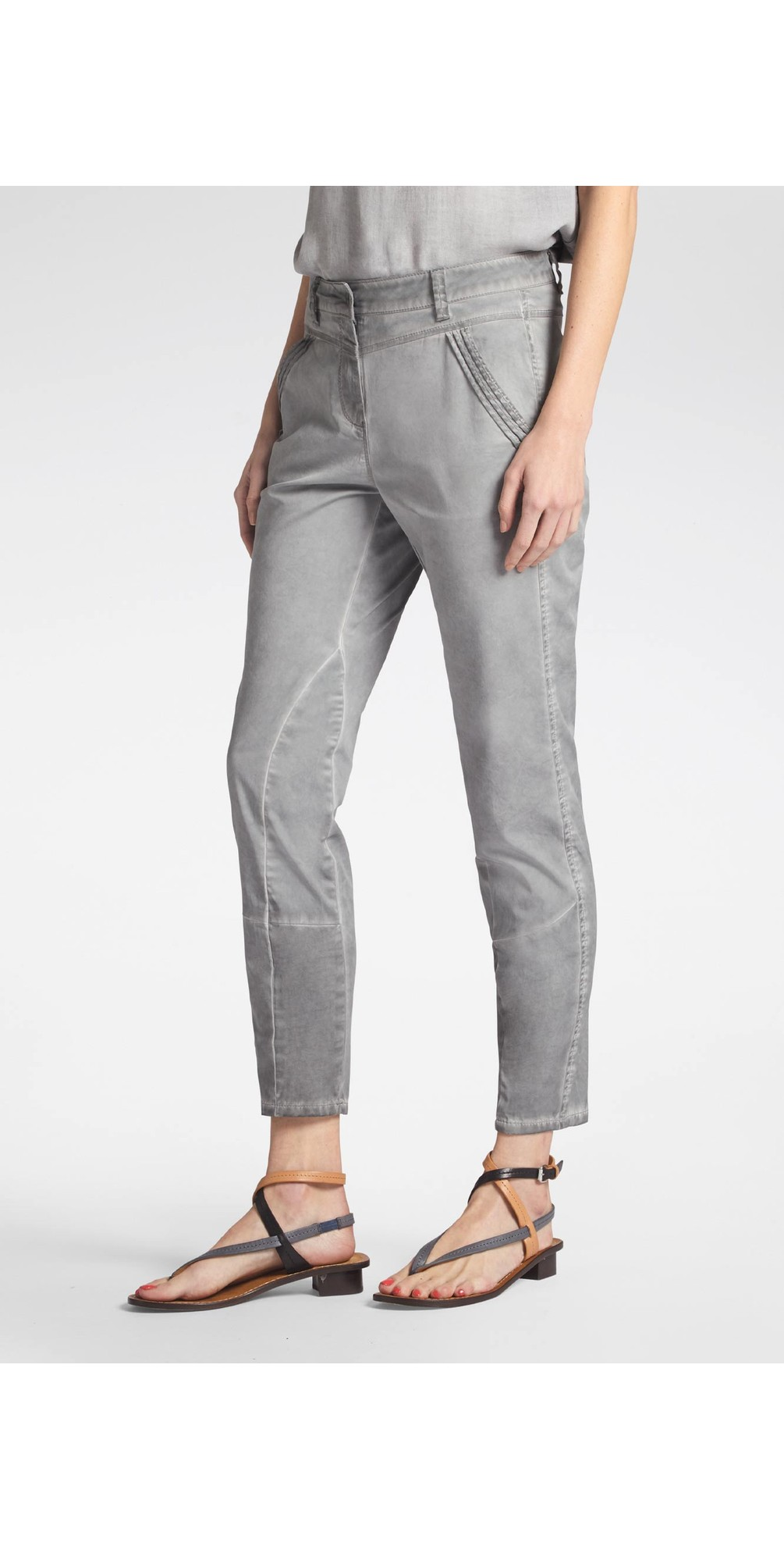 Skinny Slim Fit Washed Jeans main image