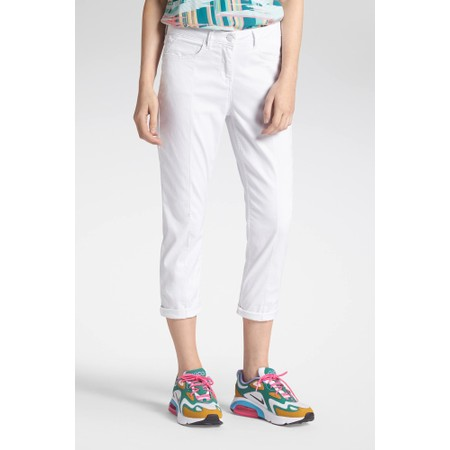 Sandwich Clothing Casual Trouser - White