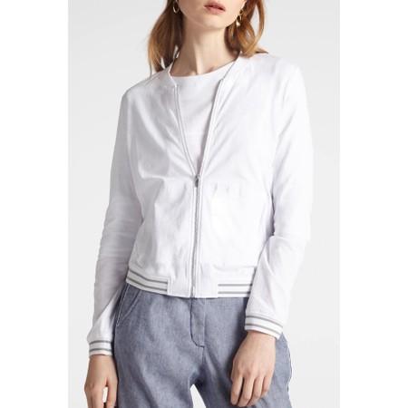Sandwich Clothing Bomber Jacket - White