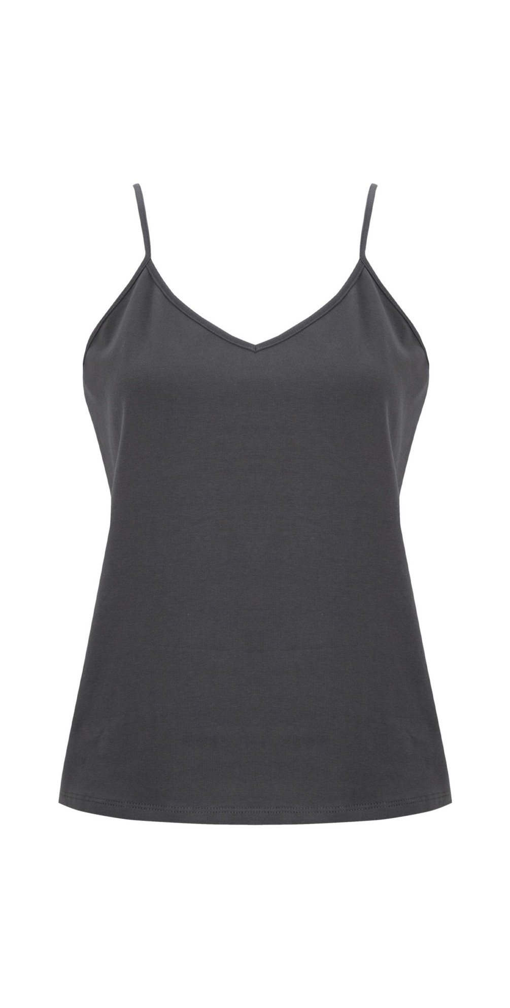 Lauren Organic Jersey Fitted Vest Top main image