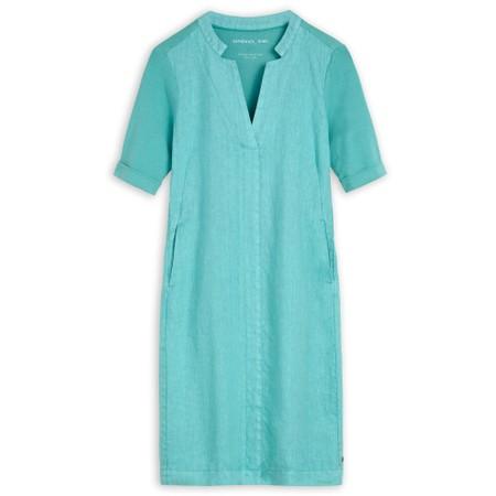 Sandwich Clothing 3/4 Sleeve Dress - Blue