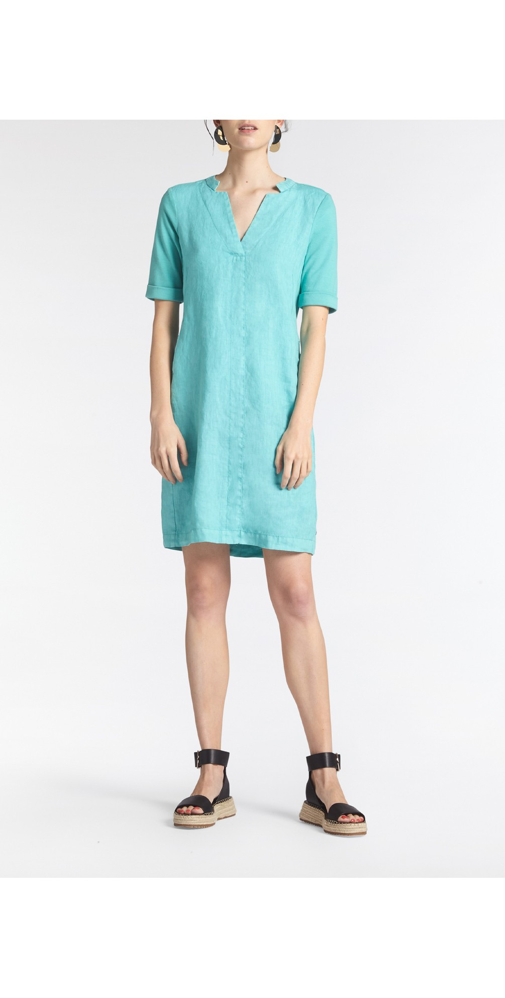 3/4 Sleeve Dress main image