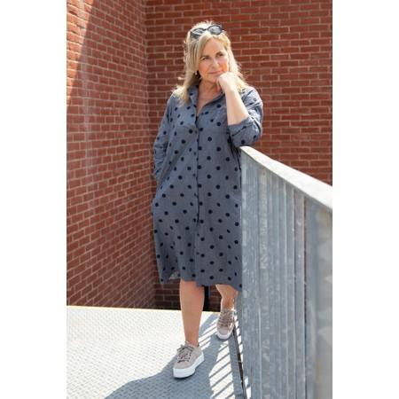 Mama B Mosto C Coat Dress - Blue