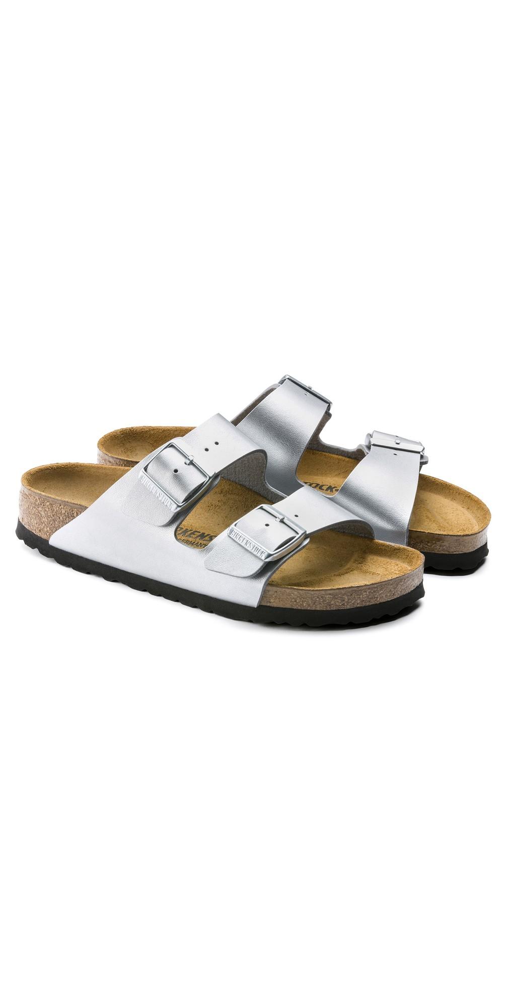 Arizona Silver Birko-Flor® Sandal main image
