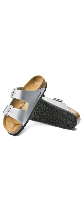 Birkenstock Arizona Silver Birko-Flor® Sandal Silver
